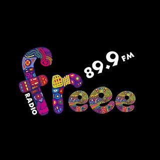 Radio Freee 89.9 FM Radio Logo