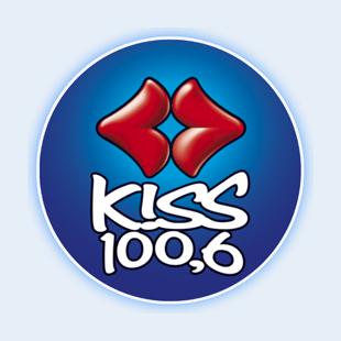 Kiss FM 100.6 Radio Logo