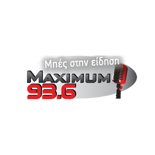 Maximum FM 93.6 Radio Logo