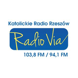 VIA - Katolickie Radio Rzeszów Logo