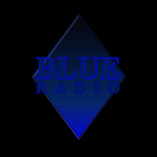 BLUE RADIO Radio Logo