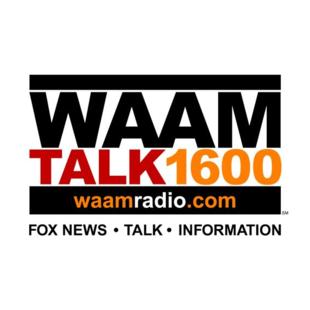 WAAM Talk 1600 Radio Logo