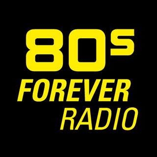 80s Forever - We Keep The 80s Alive Radio Logo