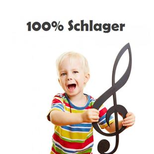 Radio 100% Schlager Logo