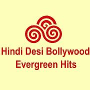 Hindi Desi Bollywood Evergreen Hits Radio Logo
