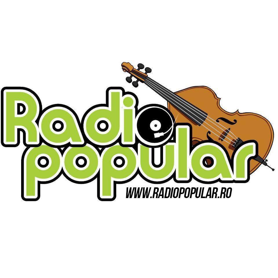 Radio Popular Romania Radio Logo