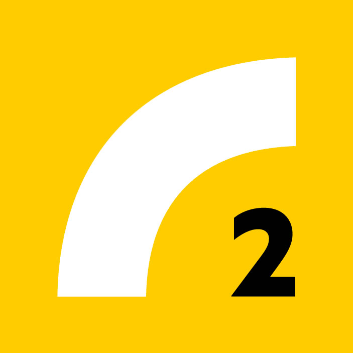 Latvijas Radio 2 Radio Logo