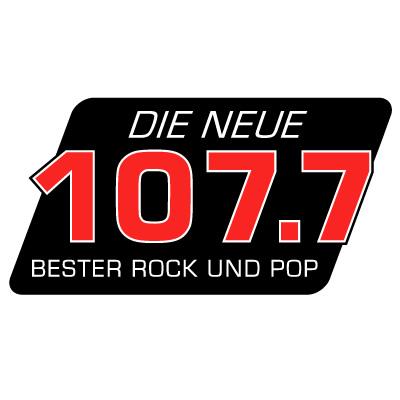 Die Neue 107.7 - 80er Radio Logo
