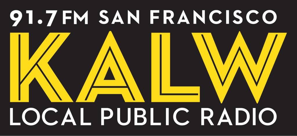 KALW 91.7 FM San Francisco, CA Radio Logo