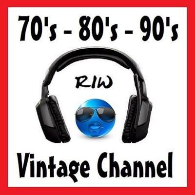 70's 80's 90's RIW VINTAGE CHANNEL Logo