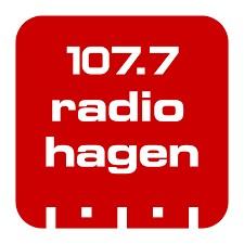 107.7 Radio Hagen Radio Logo