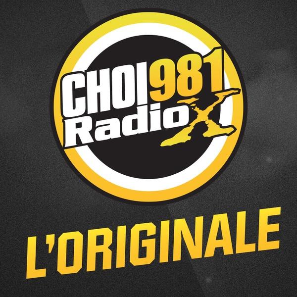 CHOI 98.1 Quebéc City, QC Radio Logo