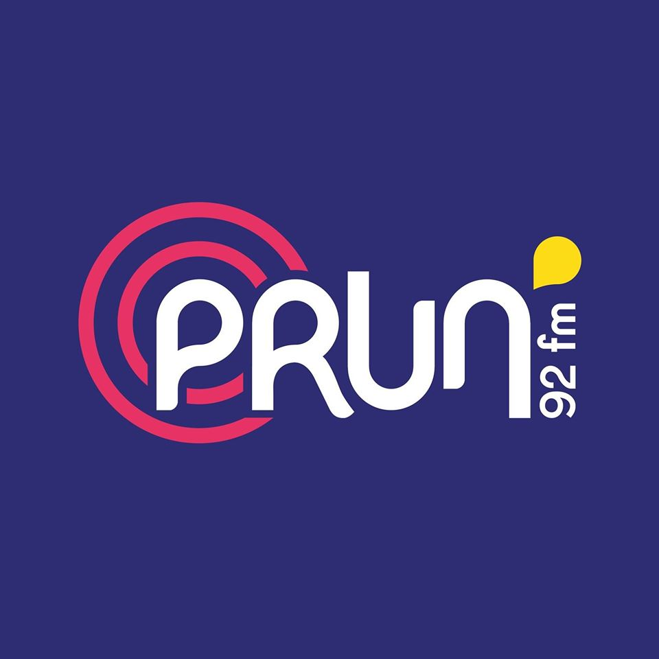 Radio Prun' 92 FM Radio Logo