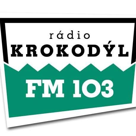 Radio Krokodýl 103 FM Radio Logo