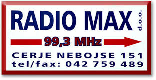 Radio Max - Maruševec 99,3 Radio Logo