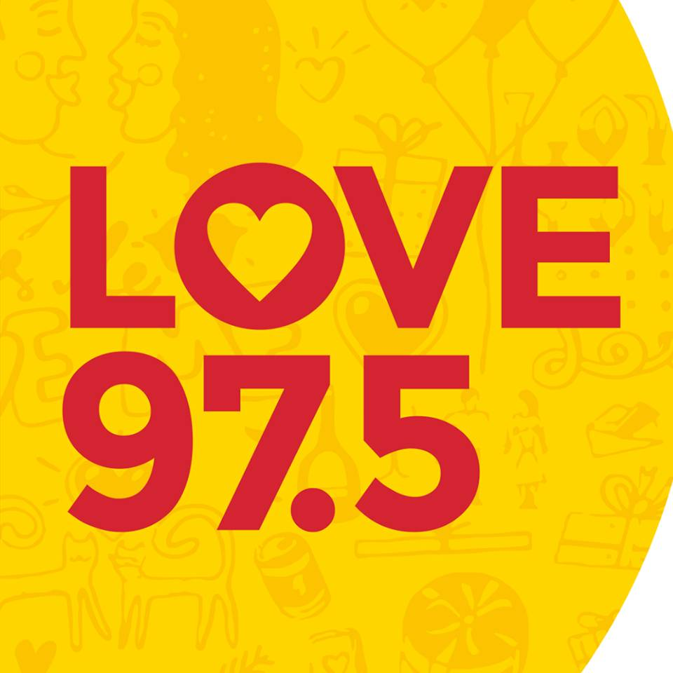 Love Radio 97.5 - Athens Radio Logo