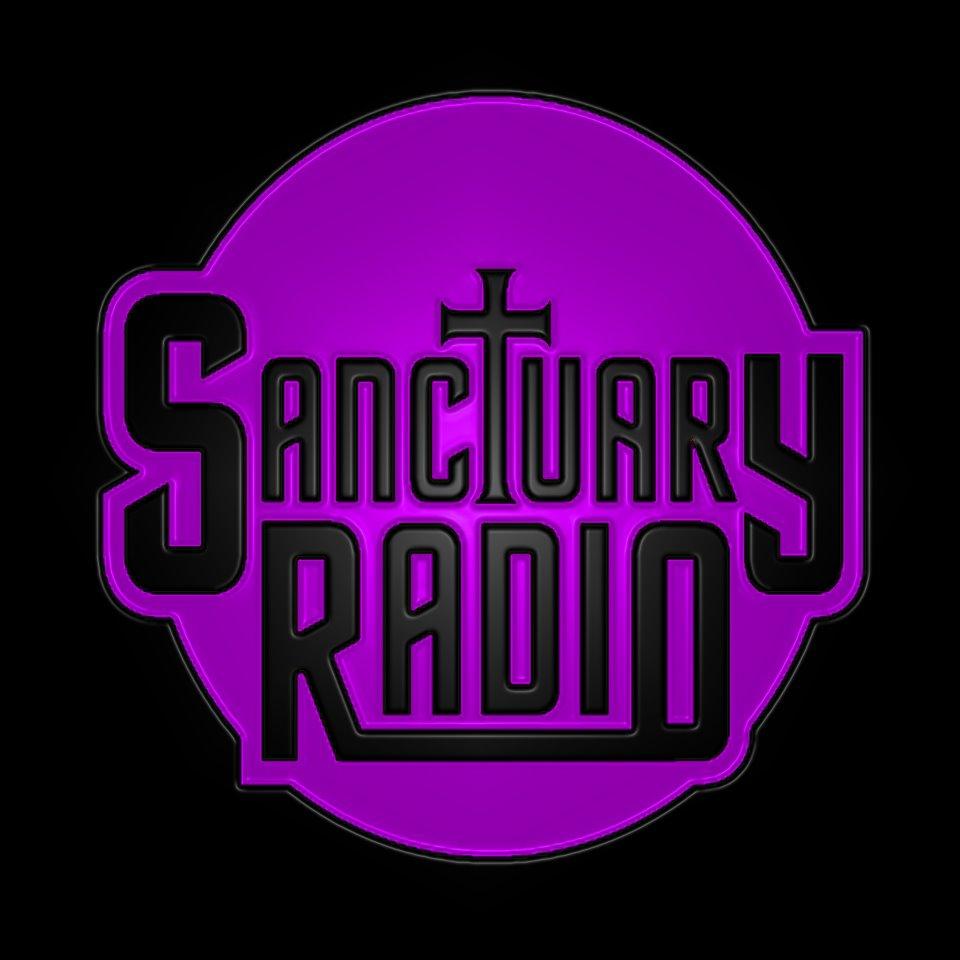 Sanctuary Radio - 80s Channel Radio Logo