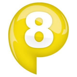 P8 Pop Radio Logo