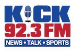 KICK 92.3 Radio Logo
