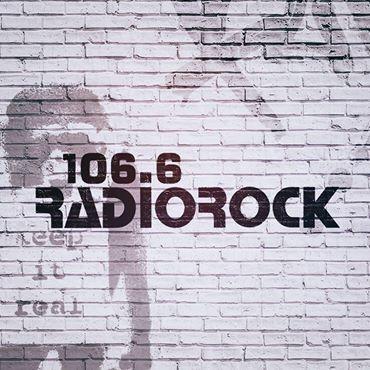 Radio Rock 106.6 Radio Logo