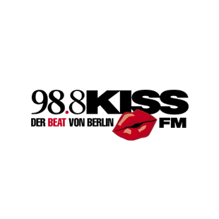 98.8 Kiss FM Berlin - Urban Beats Logo