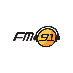 FM91 Pakistan - Lahore Logo