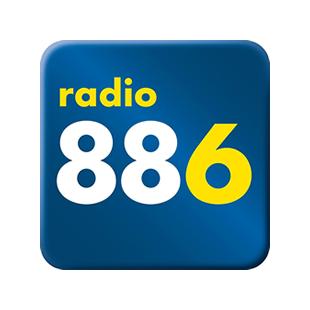 Radio 88.6 - Die 80er Logo