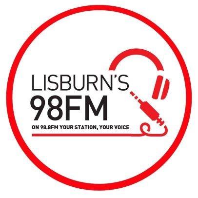 Lisburn's 98FM Radio Logo