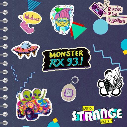 Monster Radio RX 93.1 Manila Logo