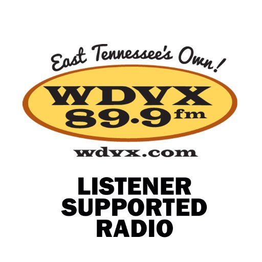WDVX 89.9 FM Knoxville, TN Radio Logo
