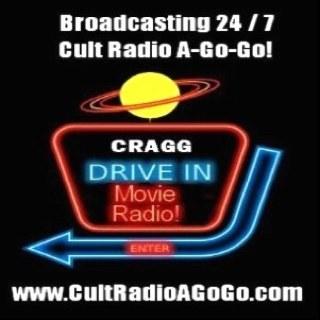 Cult Radio A-Go-Go! Radio Logo