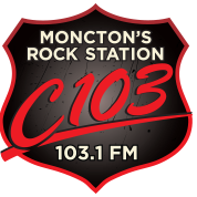 CJMO 103.1 FM Moncton, Canada Radio Logo