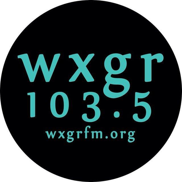 WXGR 101.5 FM Radio Logo