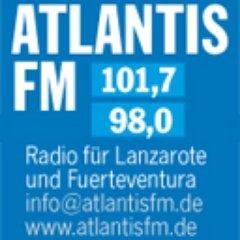 Atlantis.fm 101.7 Logo