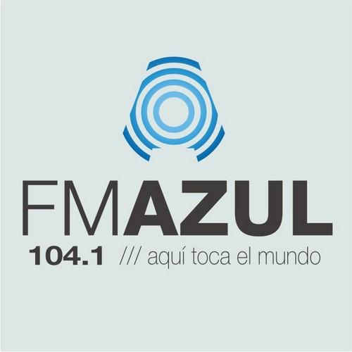 FM Azul Villa Carlos Paz Córdoba Radio Logo