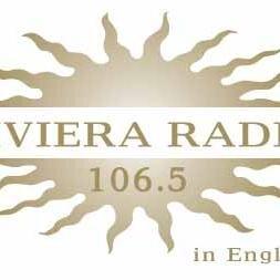 Riviera Radio 106.5 FM Monaco Logo