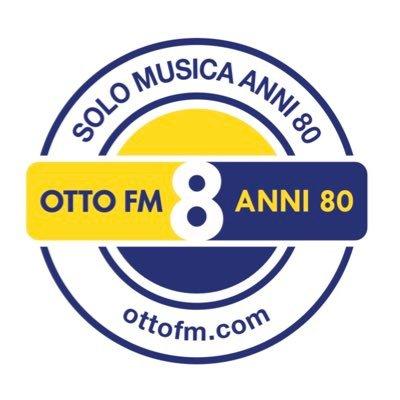 Otto FM Anni 80 Logo