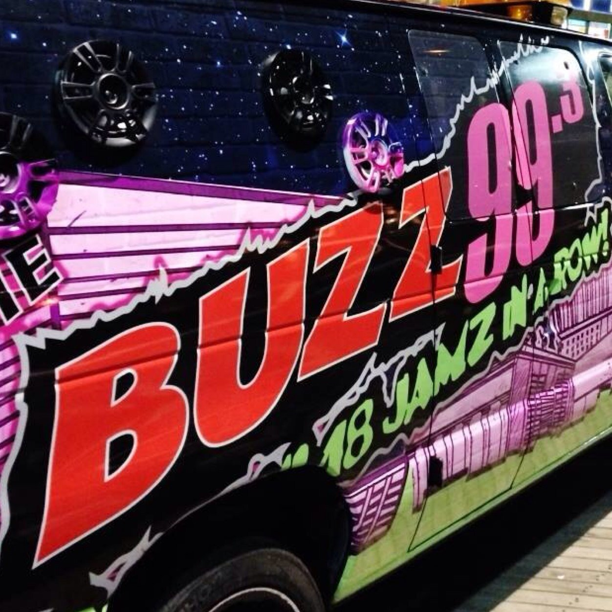 The Buzz 99.3 FM - WZBZ Logo