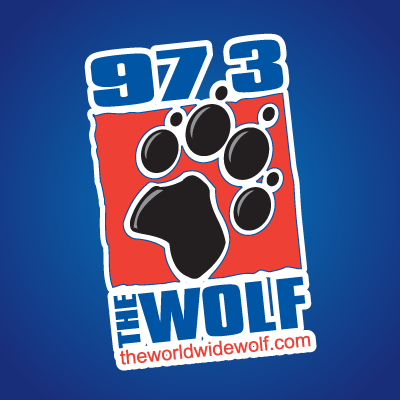 97.3 The Wolf Logo
