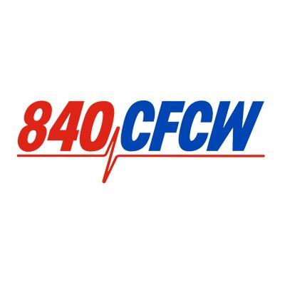 840 CFCW AM Radio Logo