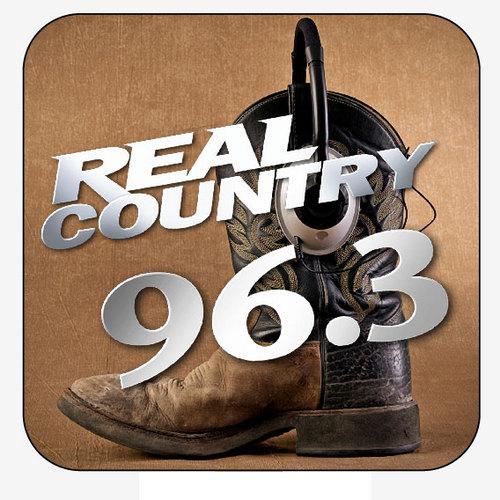 96.3 Arizona's Real Country Logo