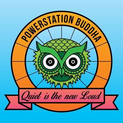 Powerstation Buddha Logo