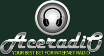 AceRadio.Net - Awesome 80s Radio Logo