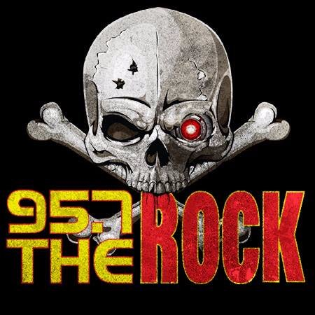 95.7 The Rock Logo
