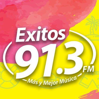 Exitos 91.3 Logo