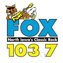 The FOX - 103.7 FM Clear Lake Logo