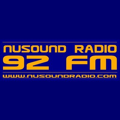NuSound Radio 92 FM Radio Logo