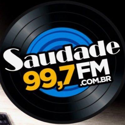 Radio Saudade FM Logo