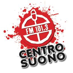 Centro Suono 101.3 I Love New Radio Logo