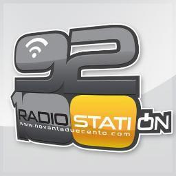 92100 Radio Station Radio Logo